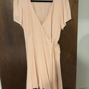 Mini wrap dress from Abercrombie